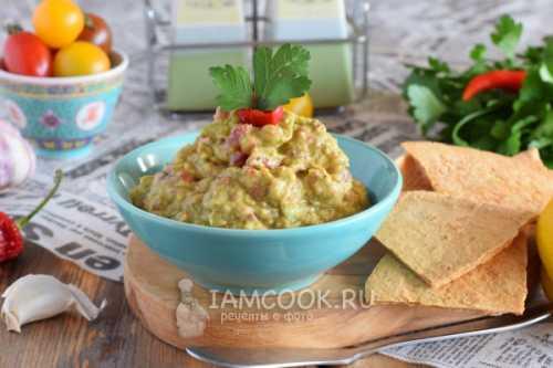 Гуакамоле классический: пошаговый рецепт с фото
