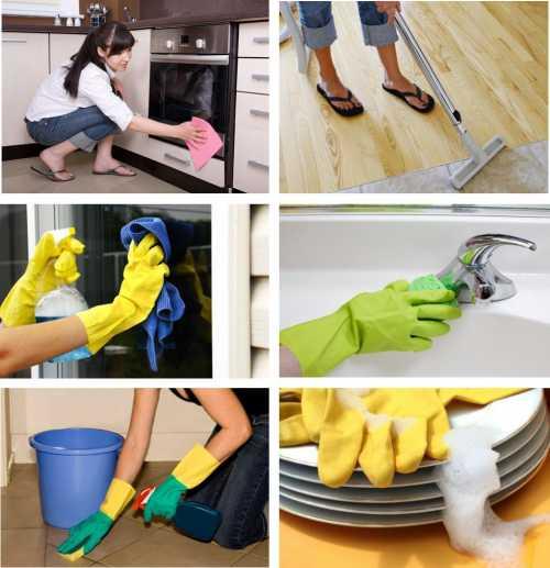 Секреты хорошей уборки: чистим обои и плитку
