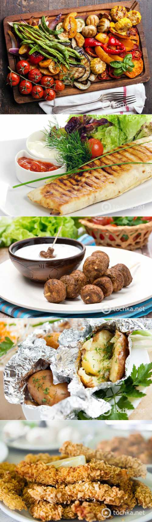 Что можно приготовить на костре: вегетарианское меню фото