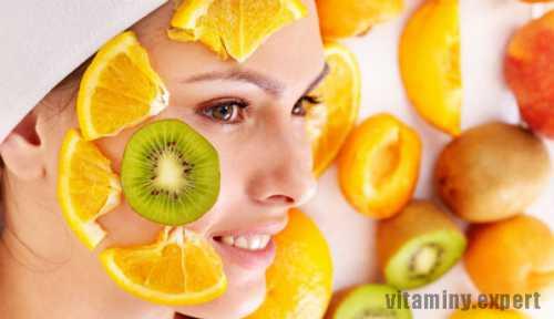 Маски для лица из сезонных фруктов