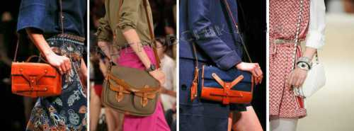 Сразу два тренда в одной сумке