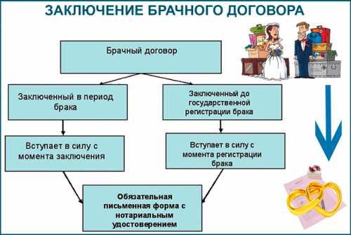 Брачный договор и его содержание регламентированы нормами