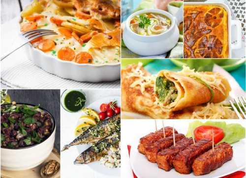 7 ужинов: записывай вкусные рецепты на неделю