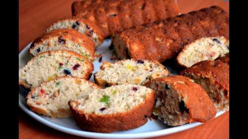Постная выпечка: рецепты фруктовых кексов