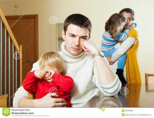 Дочь ушла Дети в повторном браке