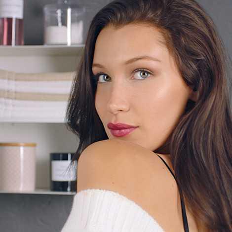 Быстро и просто: утренний макияж за 5 минут от модели Беллы Хадид видео