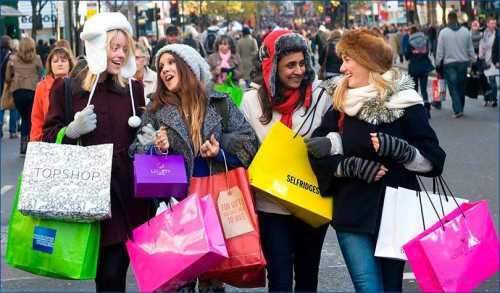 Интересно о шоппинге
