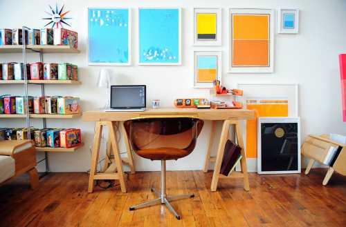 Сделай пространство удобным для работы