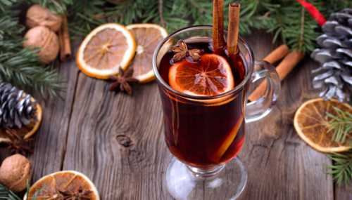 Глинтвейн - основной напиток осени и зимы