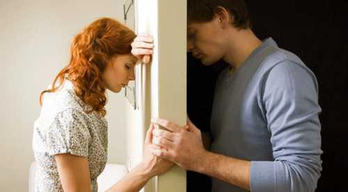 Примирение мужчина и женщина