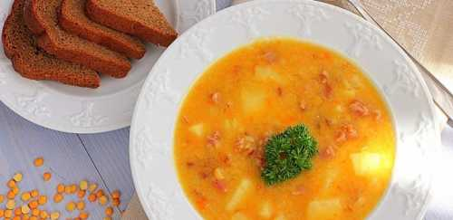 Гороховый суп с копченостями: простой рецепт
