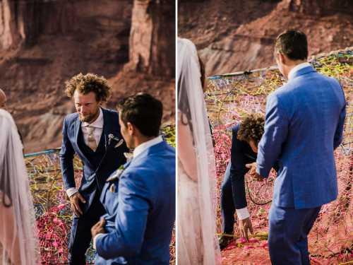 Радужная свадьба не так часто проводится летом, это скорее зимний праздник