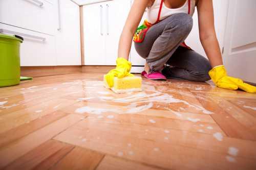 Уборка в доме Как правильно ухаживать за полами