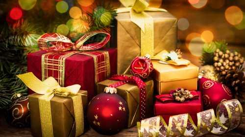 Первые подарки Нового года