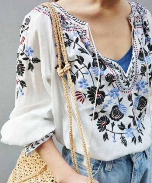 Украинский тренд: 15 вариантов вышивки на одежде