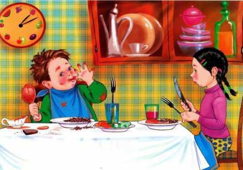 В большинстве ресторанов стол сервирован заранее, и приборы выложены с двух сторон от сервиров очной тарелки
