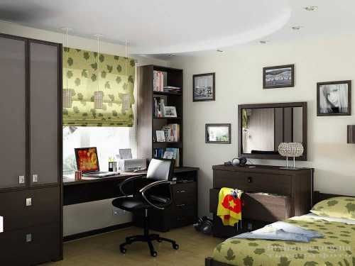 Когда придет время перемен, вы сможете обновить интерьер не делая ремонт, а только заменив мебель, шторы или декор