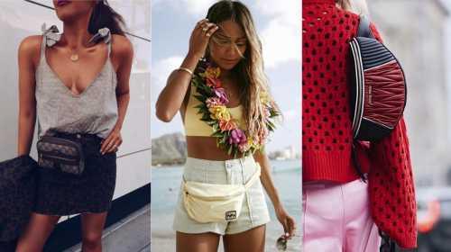 Как носить поясную сумку: 10 стильных вариантов на лето