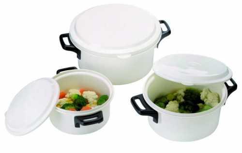 Вы ни капельки не пожалеете, если в вашем посудном арсенале появиться силиконовая посуда для микроволновки