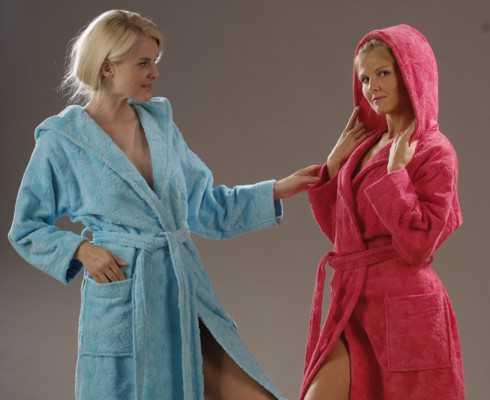 Советы стилистов Женский махровый халат в подарок