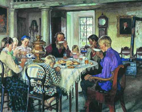 Как пьют чай в России